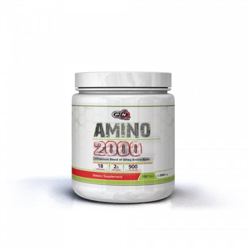 AMINO 2000 МГ + LEUCINE - 150 Таблетки Pure Nutrition
