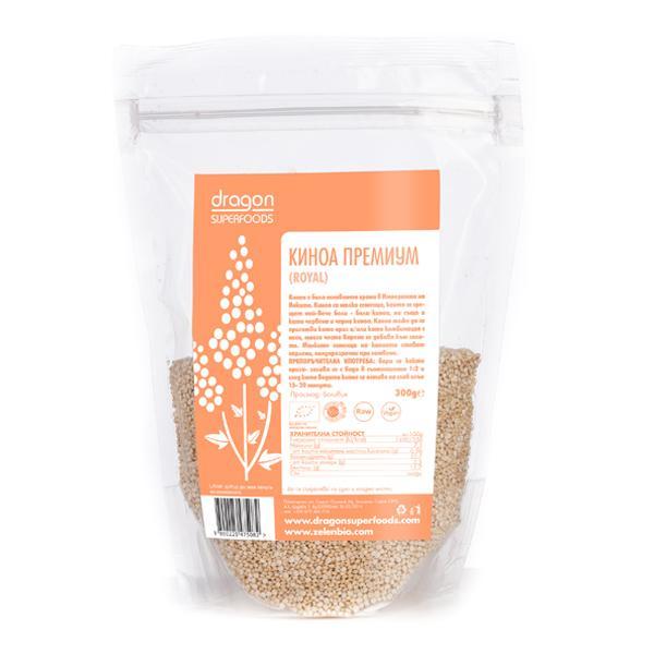 Био Киноа Премиум (Royal), Dragon Superfoods, 300 g