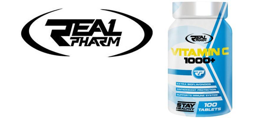 Vitamin C 1000+ 100 таблетки REAL PHARM