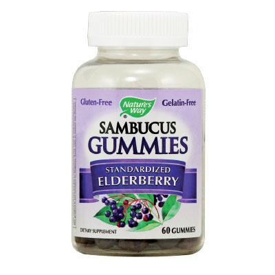 Самбукус Гъми 25 mg x 60 желирани таблетки