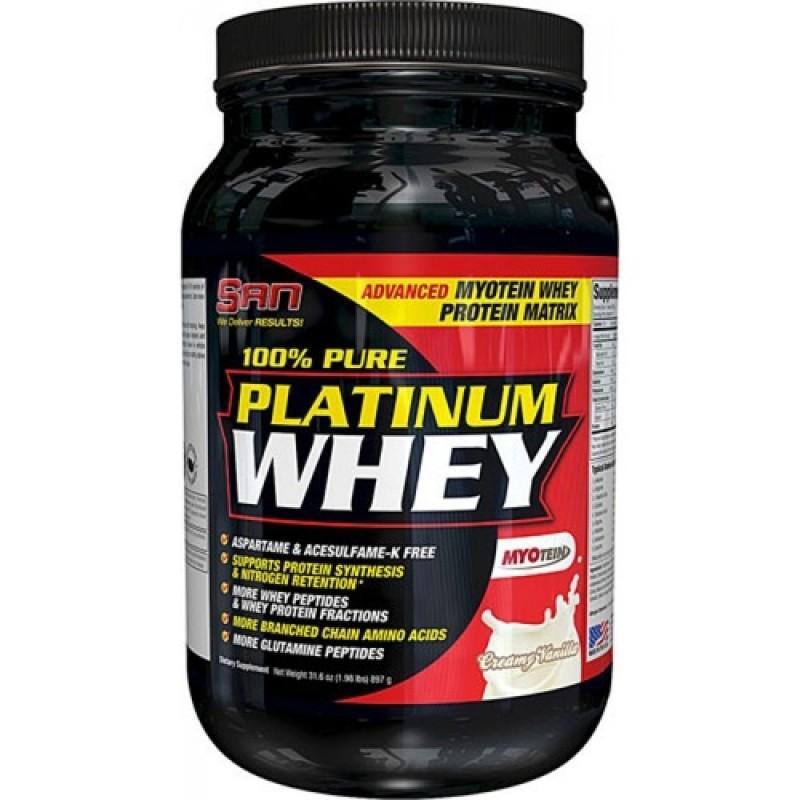 SAN - 100% Platinum Whey - 2 lb