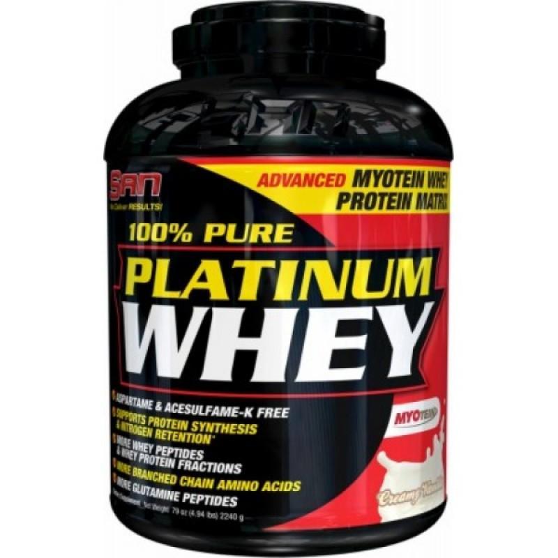 SAN - 100% Platinum Whey - 5 lb