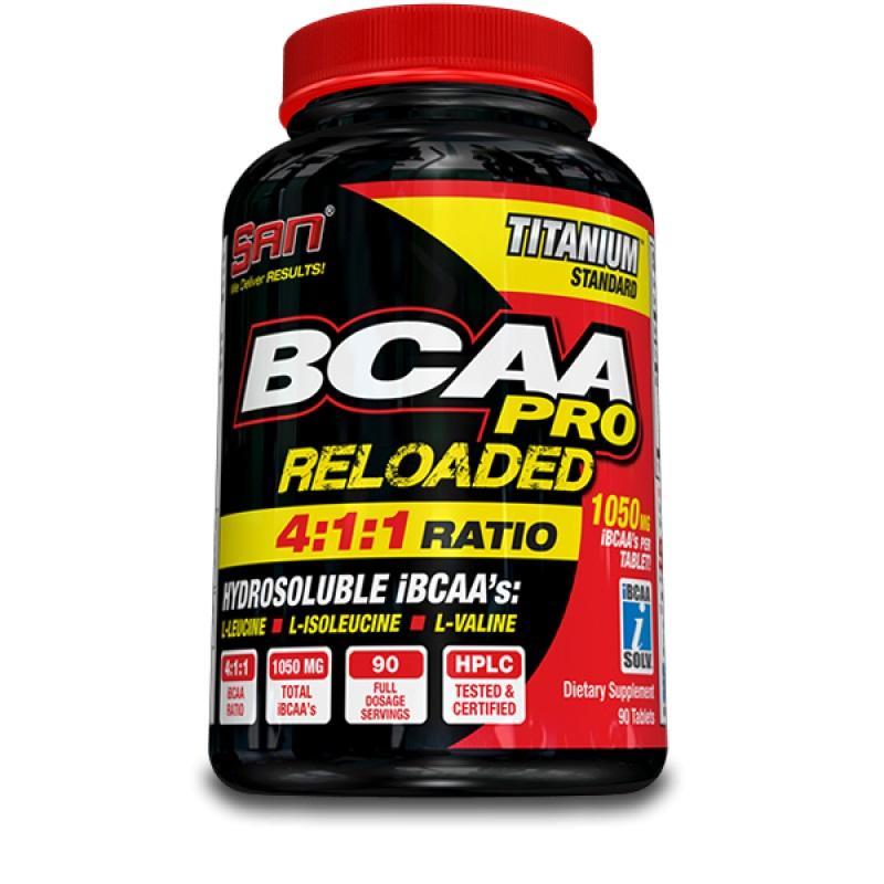 SAN - BCAA PRO RELOADED - 180 таблетки