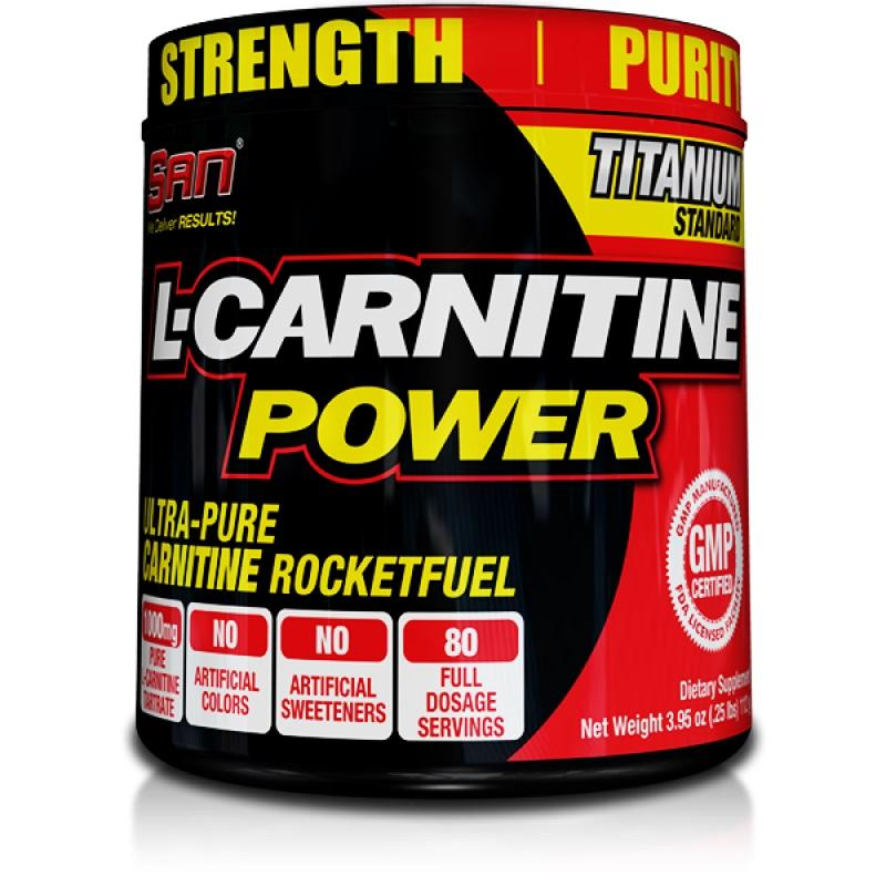 SAN - L-Carnitine Power - 60 капсули