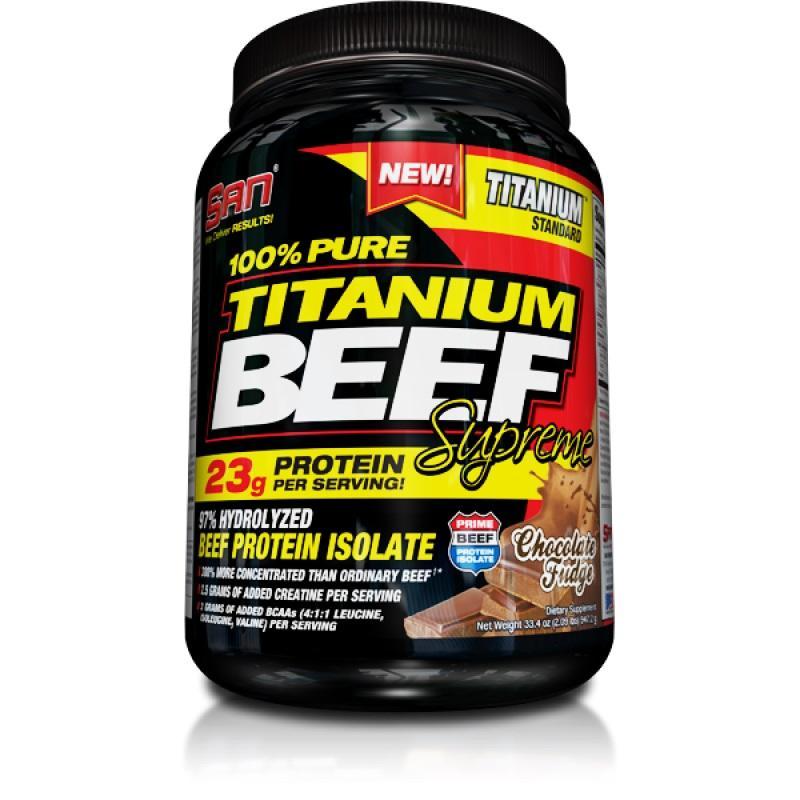 SAN - TITANIUM BEEF SUPREME - 4 lb