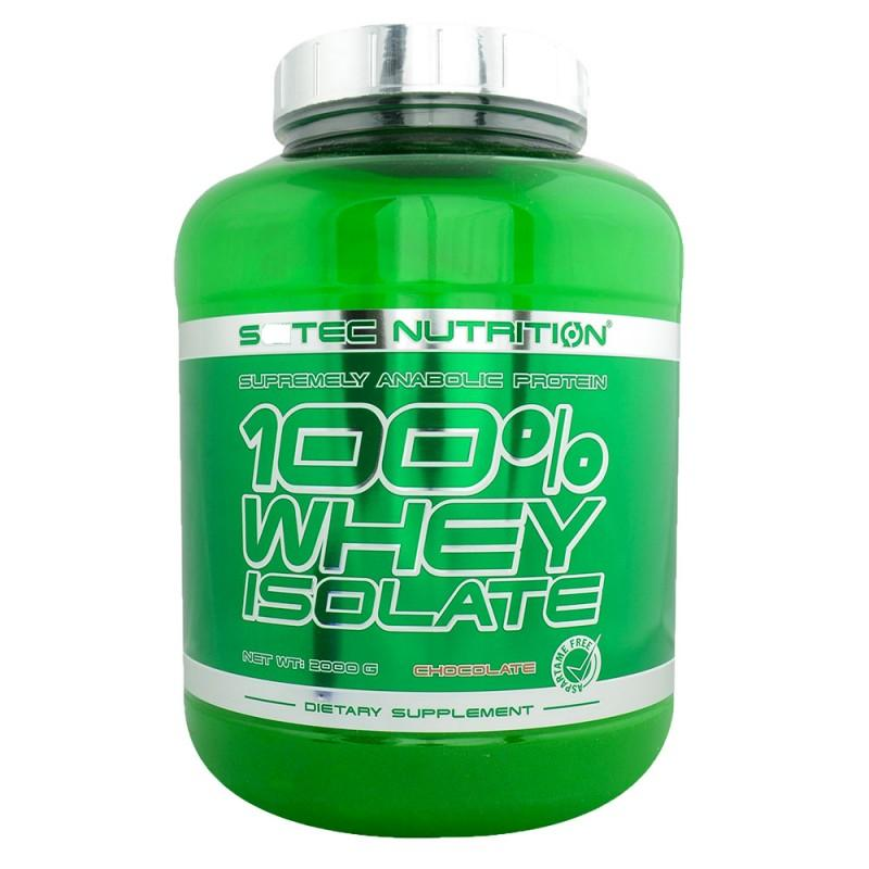 SCITEC - 100% Whey Isolate - 2000 Г