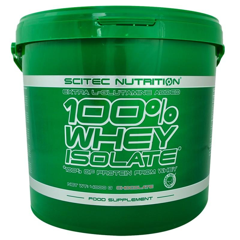 SCITEC - 100% Whey Isolate - 4000 Г