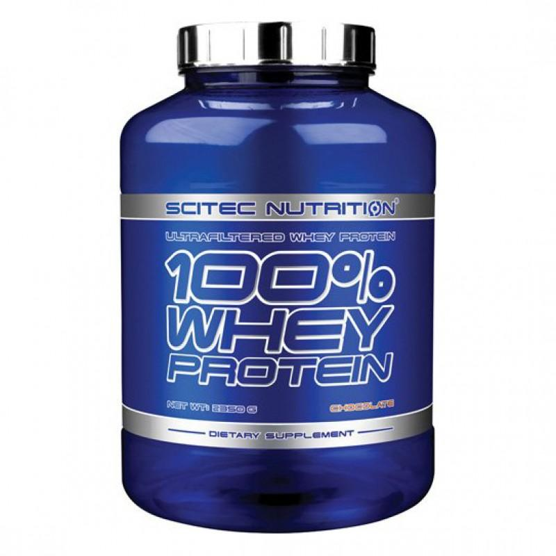 SCITEC - 100% Whey Protein - 2350g