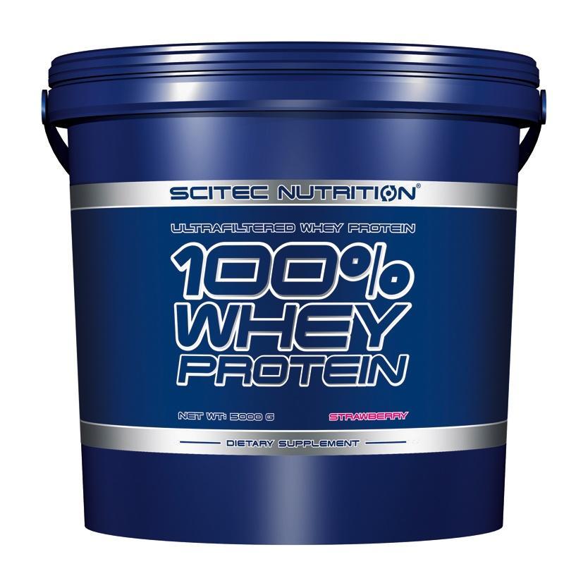 100% Whey Protein - 5000 Г SCITEC