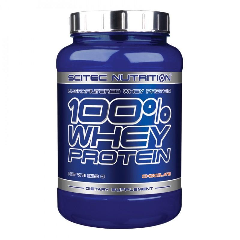 SCITEC - 100% Whey Protein - 920g