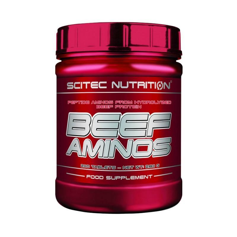 Beef Aminos - 200 Таблетки SCITEC