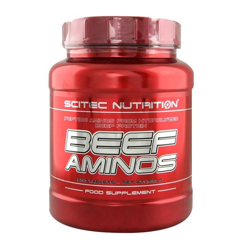 Beef Aminos - 500 Таблетки SCITEC