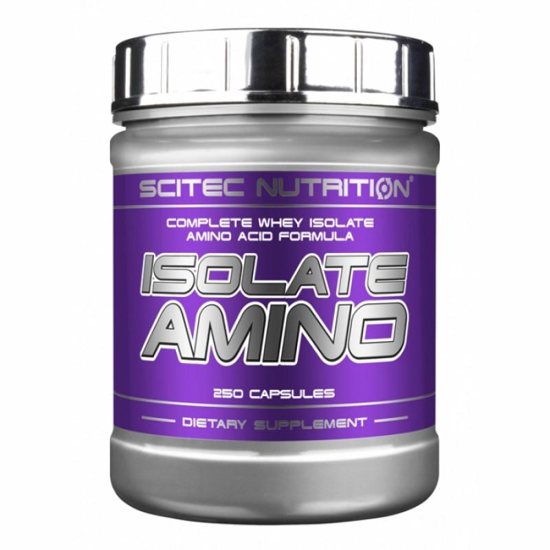 Isolate Amino - 250 Капсули - SCITEC