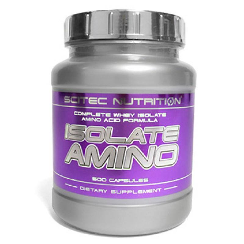 Isolate Amino - 500 Капсули SCITEC