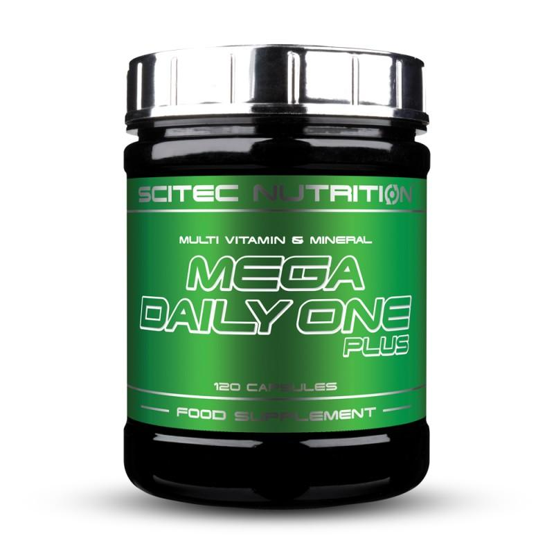 SCITEC - Mega Daily One Plus - 120 Капсули