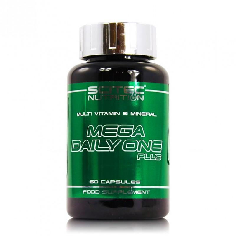 SCITEC - Mega Daily One Plus - 60 Капсули