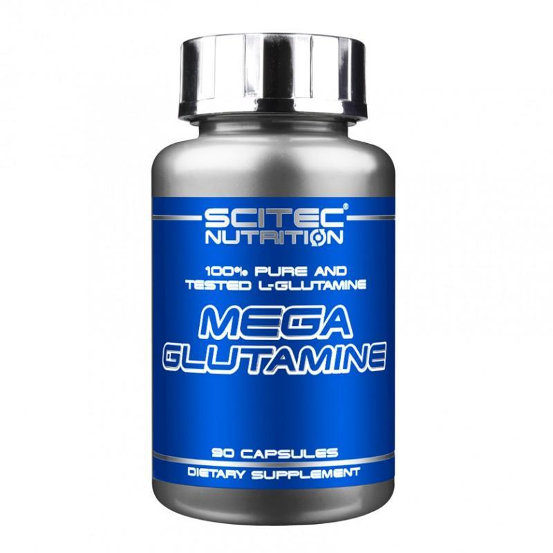 SCITEC - Mega Glutamine - 90 Капсули