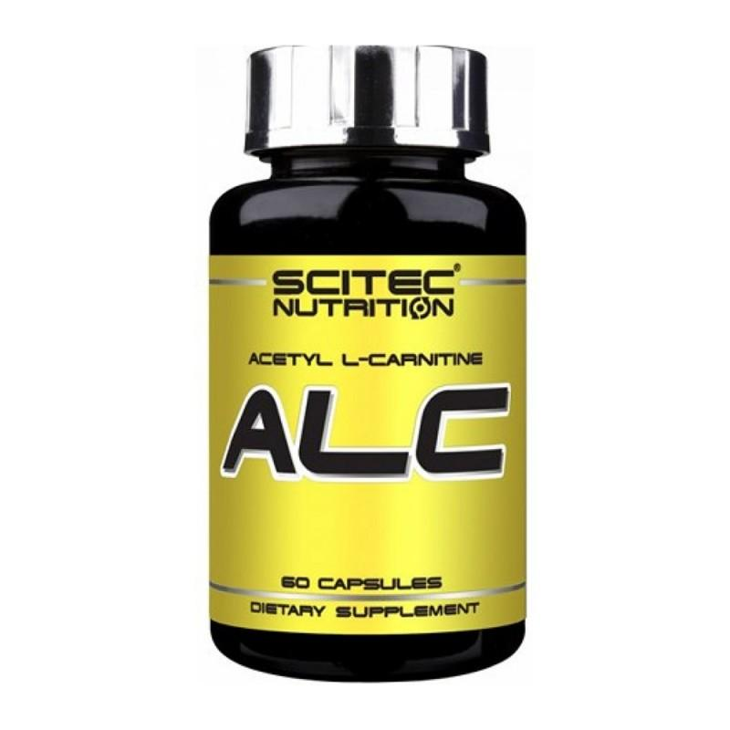 SCITEC N - ALC (Acetyl L-Carnitine) 250 МГ - 60 Капсули