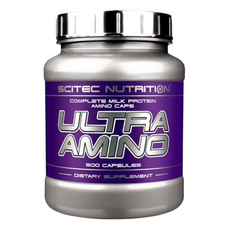 SCITEC - ULTRA AMINO - 500 Капсули
