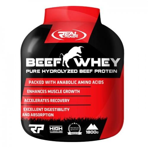 BEEF WHEY 1.8 кг Real Pharm