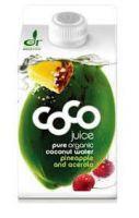 Био кокосова вода с ананас и ацерола, 500ml