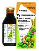Flоradix Мултивитамин - Eнергия от природата, 250мл