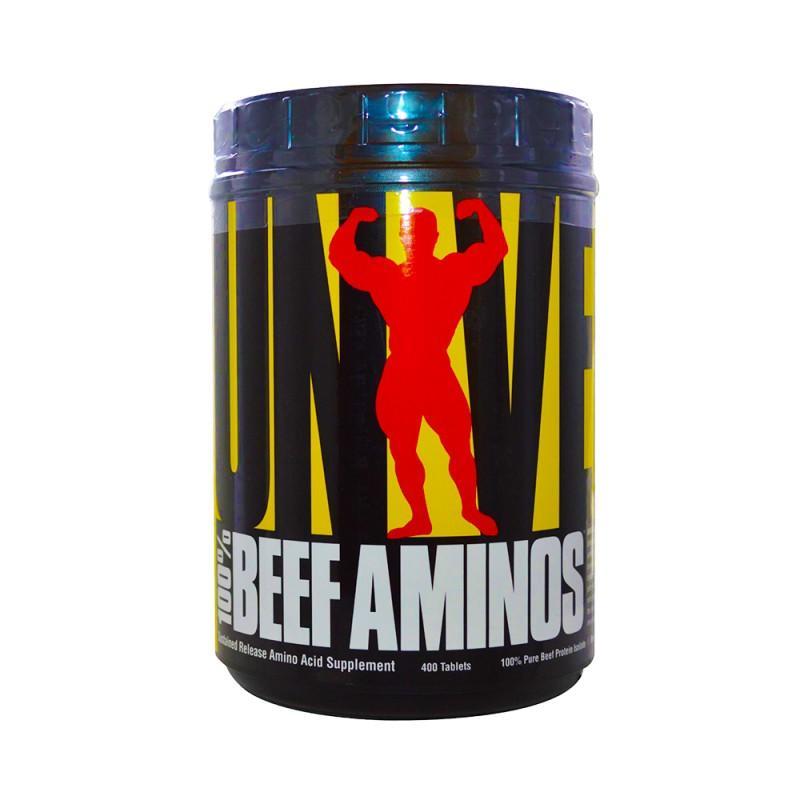 100% Beef Aminos - 200 Таблетки  UNIVERSAL