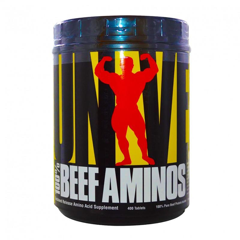 100% Beef Aminos - 400 Таблетки  UNIVERSAL