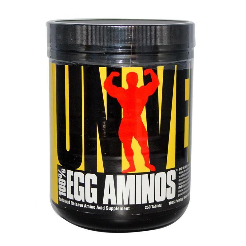 100% Egg Aminos - 250 Таблетки  UNIVERSAL