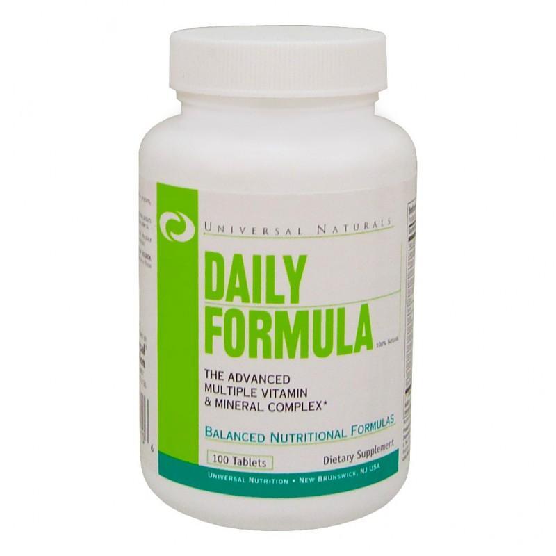 Daily Formula - 100 Таблетки UNIVERSAL