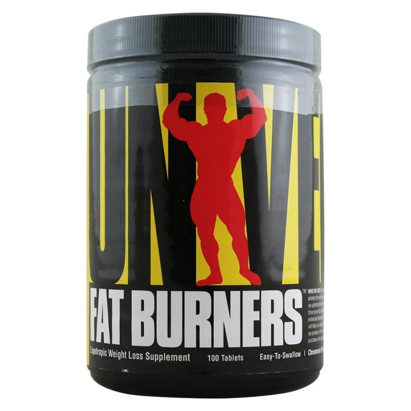Fat Burners - Easy To Swallow - 100 Таблетки- UNIVERSAL