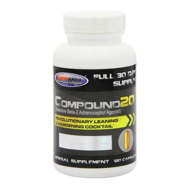 Compound 20 - 120 Капсули USP Labs