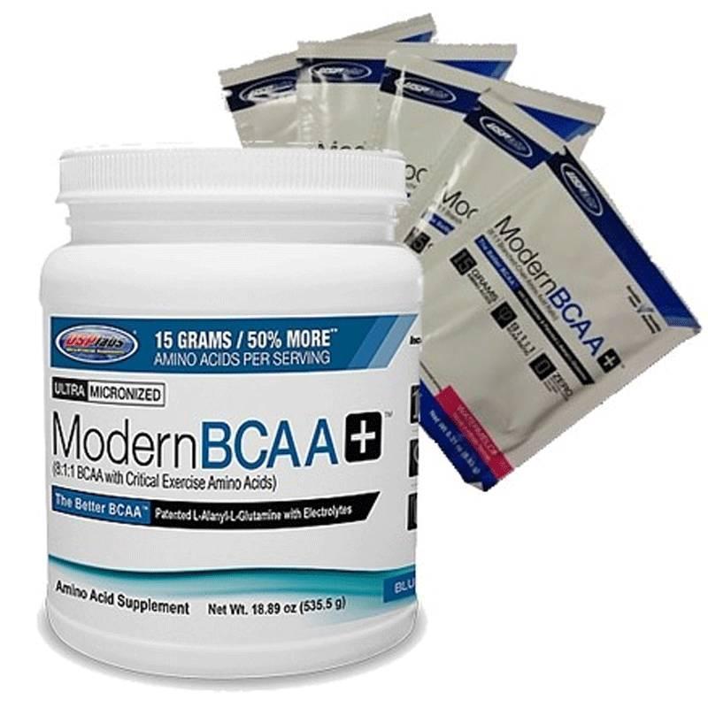 Modern BCAA+ - доза USP Labs