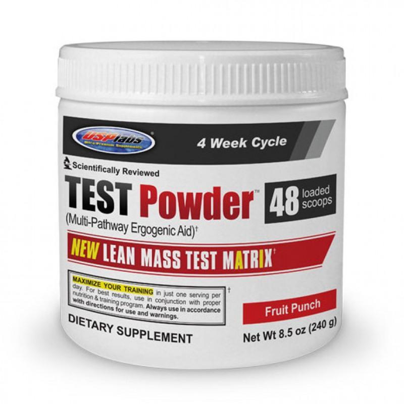 Test Powder - 240 Г USP Labs